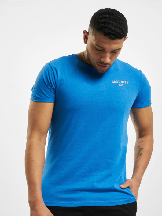 Sublevel T-Shirt Easy Mind blau