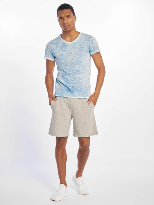Sublevel t-shirt Flecked blauw