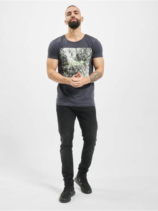 Sublevel t-shirt Graphic blauw