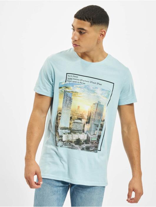 Sublevel t-shirt Big City blauw