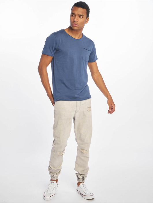 Sublevel T-Shirt Good Vibes bleu