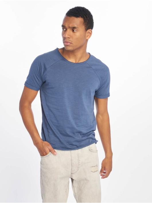 Sublevel T-Shirt Raglan bleu