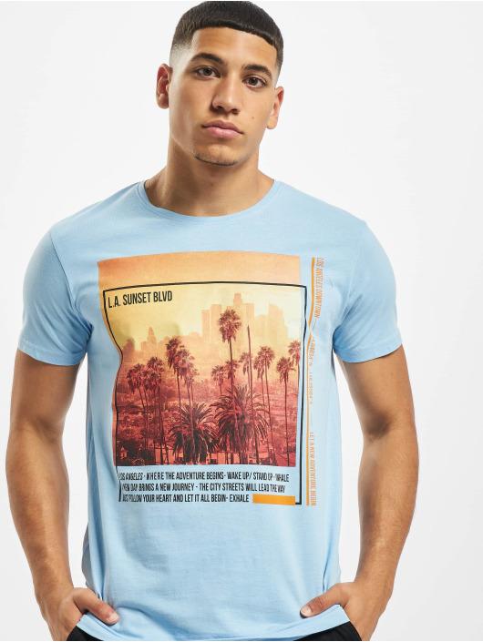 Sublevel T-Shirt Downtown bleu
