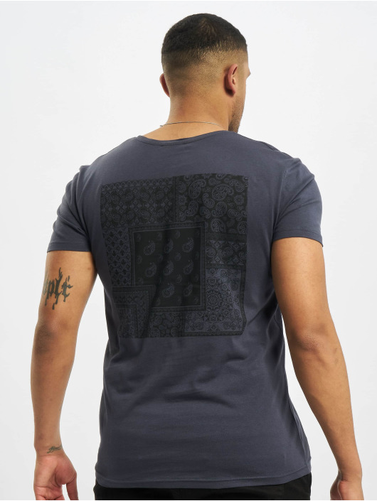 Sublevel T-Shirt Paisley bleu