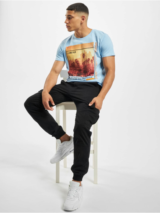 Sublevel T-shirt Downtown blu