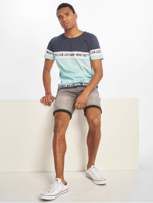 Sublevel T-Shirt WTF blue