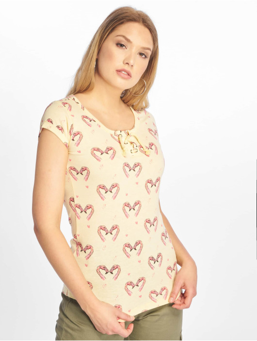 Sublevel t-shirt Short Sleeves geel