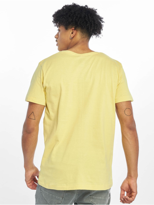 Sublevel t-shirt Roundneck geel