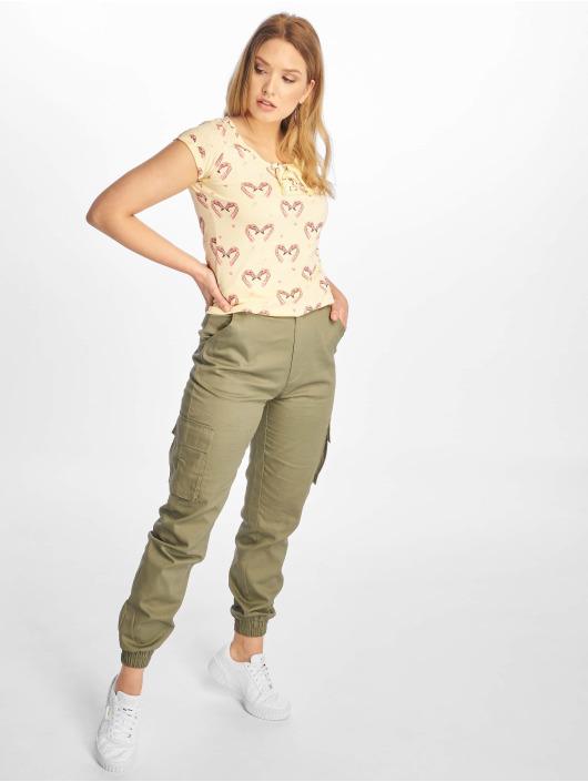 Sublevel T-Shirt Short Sleeves gelb