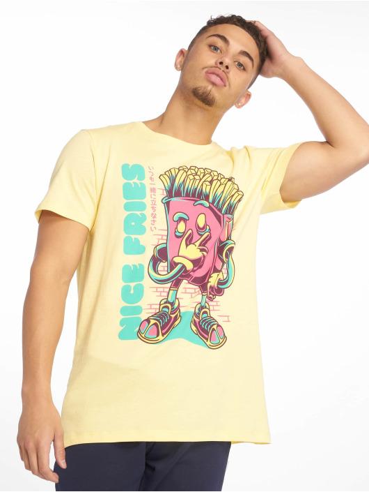 Sublevel T-Shirt Roundneck gelb