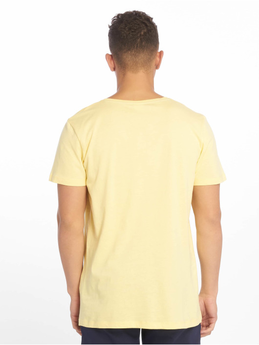 Sublevel T-Shirt Roundneck gelb