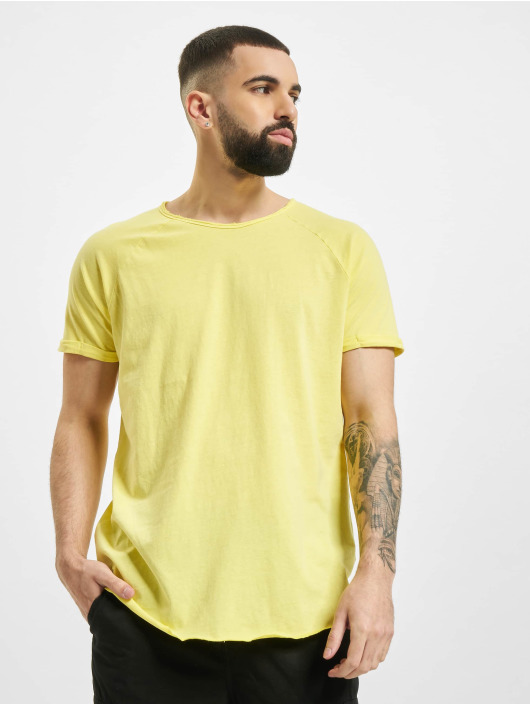 Sublevel T-Shirt Raglan gelb