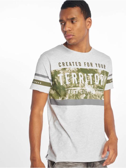 Sublevel T-shirt Haka grå