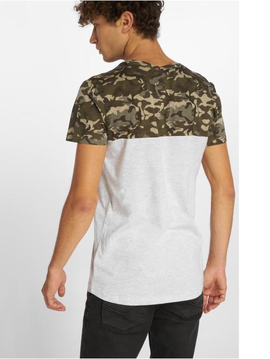 Sublevel T-Shirt Camo grau