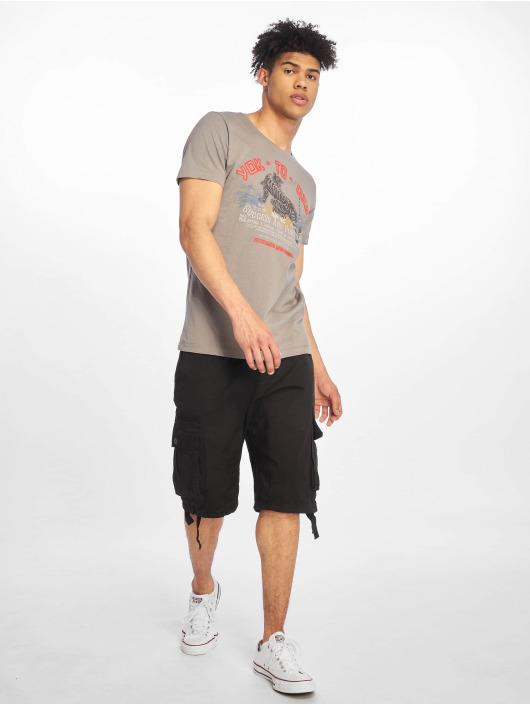 Sublevel T-Shirt Roundneck grau