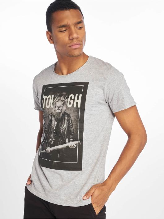 Sublevel T-Shirt Tough grau