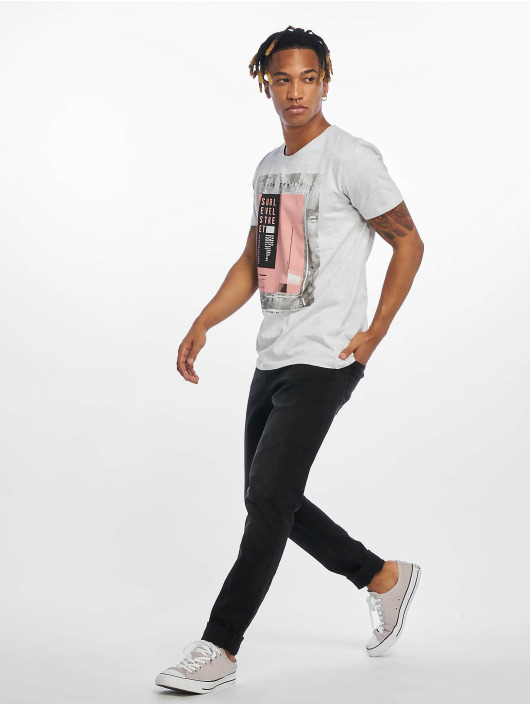 Sublevel T-Shirt Flow Identity gray
