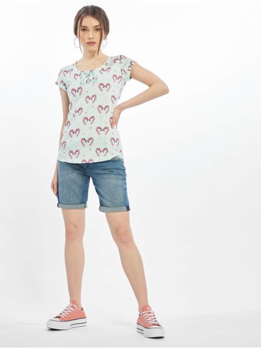 Sublevel T-Shirt Short Sleeves green