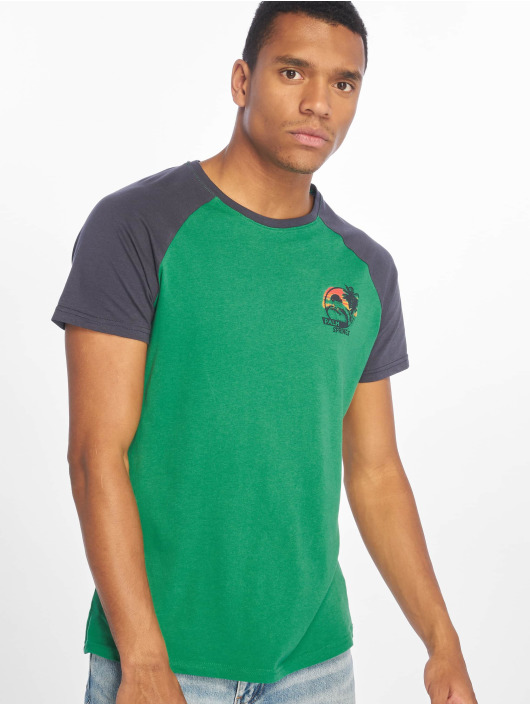 Sublevel T-Shirt Palm Springs green