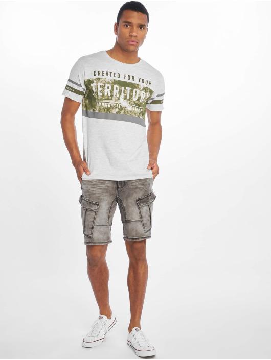 Sublevel T-shirt Haka grigio