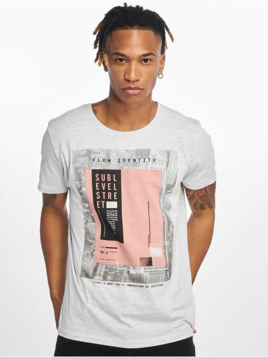 Sublevel T-shirt Flow Identity grigio
