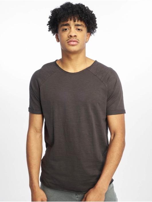 Sublevel T-shirt Raglan grigio