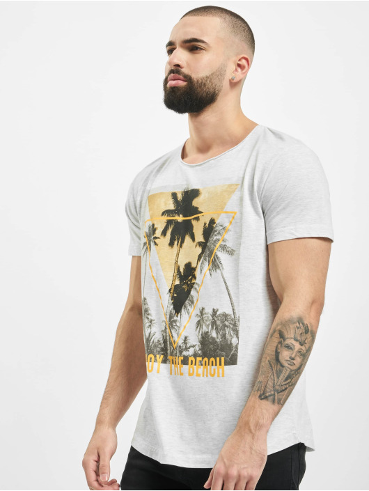 Sublevel T-shirt Enjoy grigio