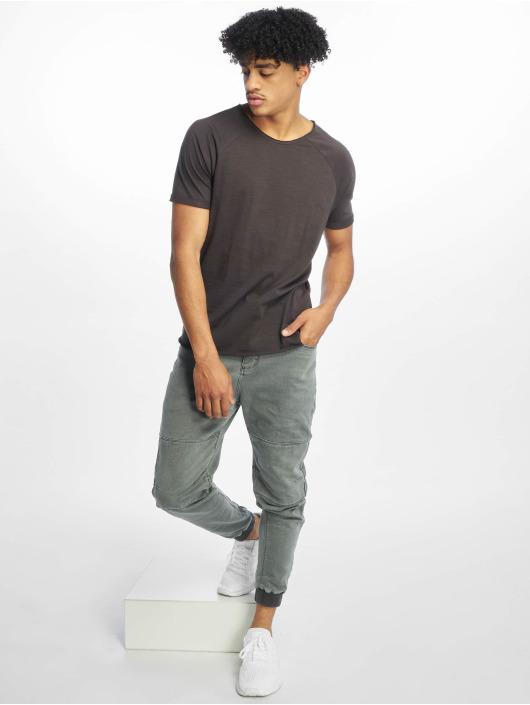 Sublevel t-shirt Raglan grijs