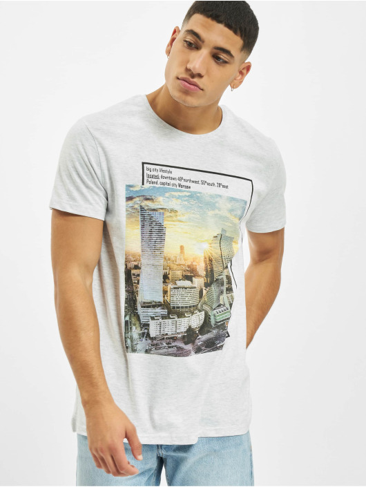 Sublevel t-shirt Big City grijs