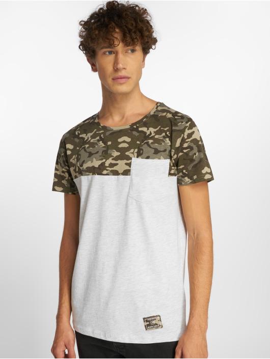 Sublevel T-Shirt Camo gris