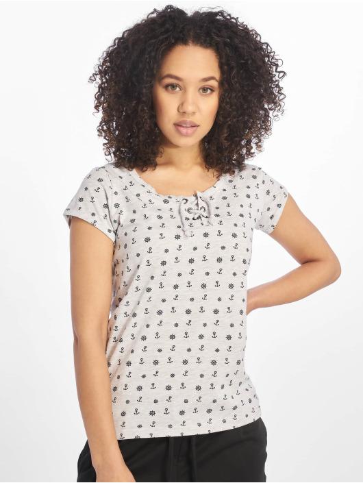 T shirt Sublevel Maritim Femme 630054 Gris OkPZiuTX