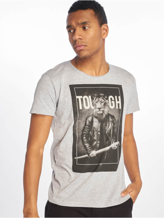 673256 Tough shirt T Gris Homme Sublevel 2IYEDHW9e
