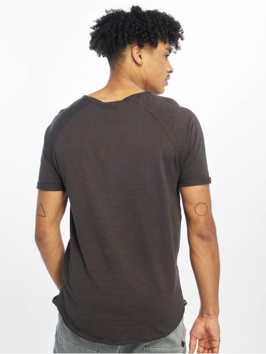 Sublevel T-Shirt Raglan gris