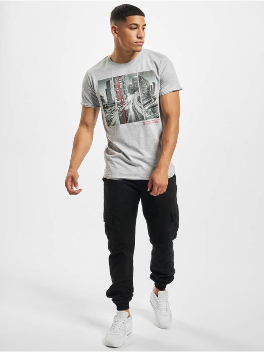 Sublevel T-Shirt City Life gris