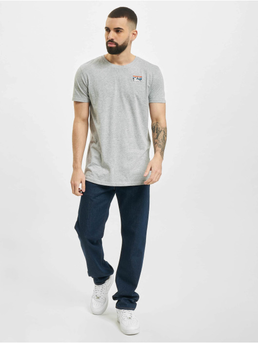 Sublevel T-Shirt Catch The Vibes gris