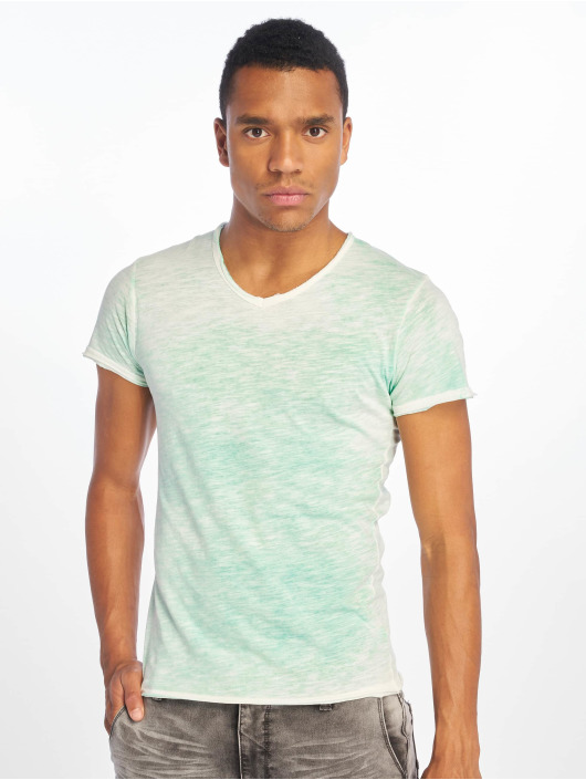 Sublevel t-shirt Flecked groen