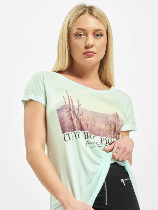 Sublevel t-shirt Prickly groen