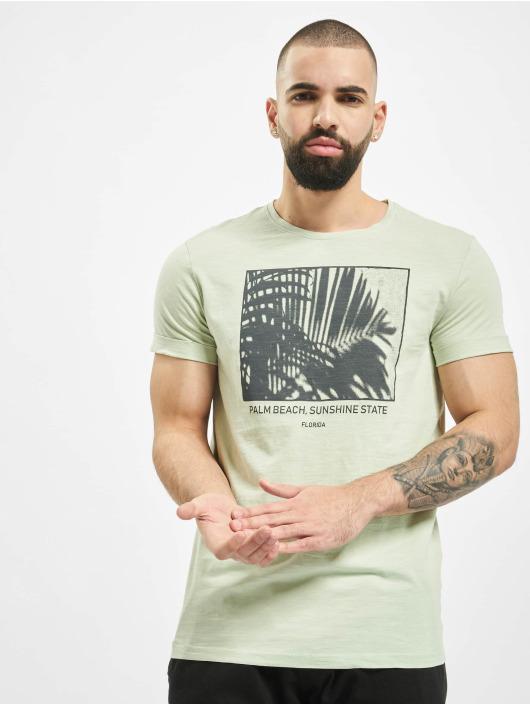 Sublevel t-shirt Palm Beach groen