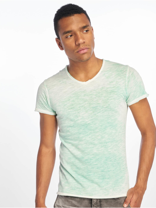 Sublevel T-Shirt Flecked grün