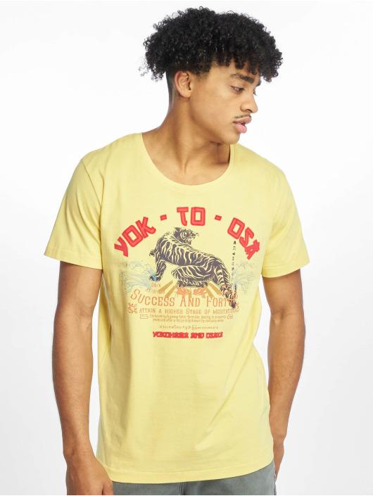 Sublevel T-Shirt Roundneck jaune