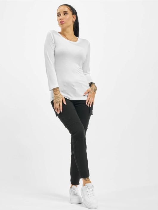 Sublevel T-Shirt manches longues Fine blanc