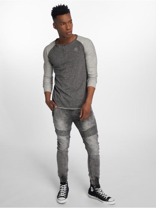Sublevel T-Shirt manches longues Fynn gris
