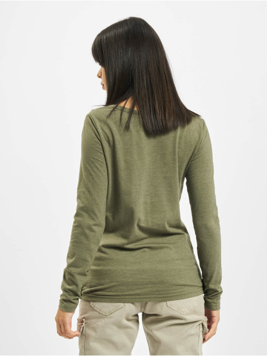 Sublevel T-Shirt manches longues Sessa olive
