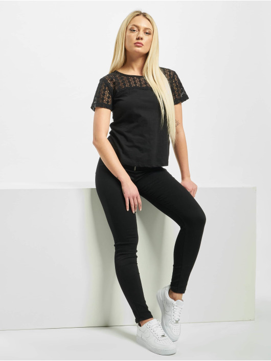 Sublevel T-Shirt Lace noir