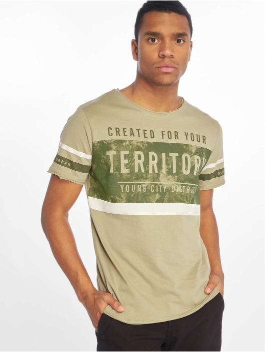 Sublevel t-shirt Haka olijfgroen