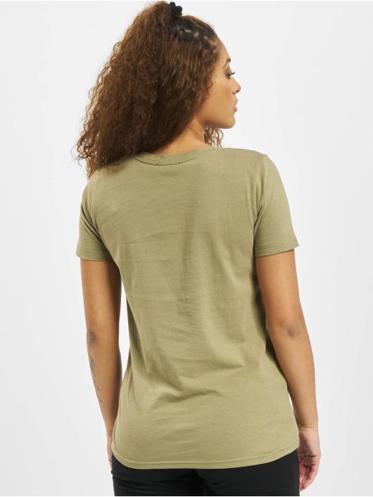 Sublevel t-shirt Elisa olijfgroen