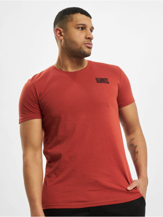 Sublevel T-shirt Paisley rosso