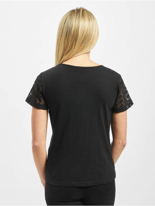 Sublevel T-Shirt Lace schwarz