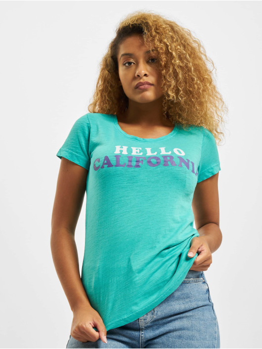 Sublevel T-Shirt Hello türkis