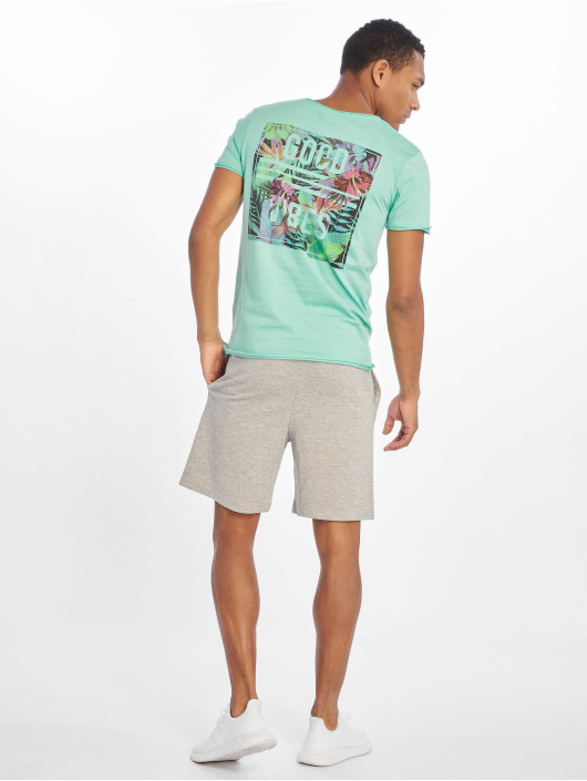 Sublevel T-Shirt Good Vibes türkis